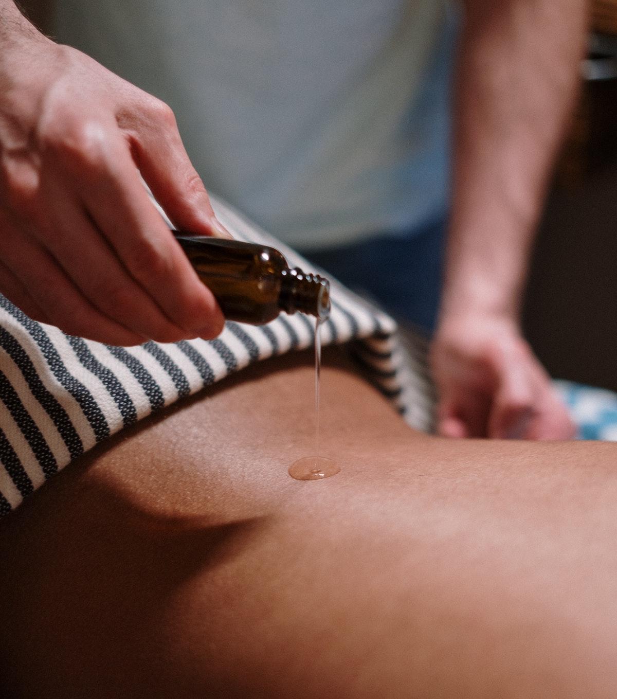 Thai Massage mit Öl